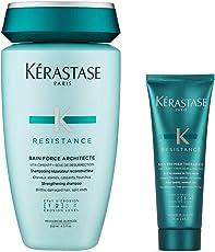 KERASTASE 卡诗 强韧修护洗发水250ml+丝韧焕活调理乳75ml(进)