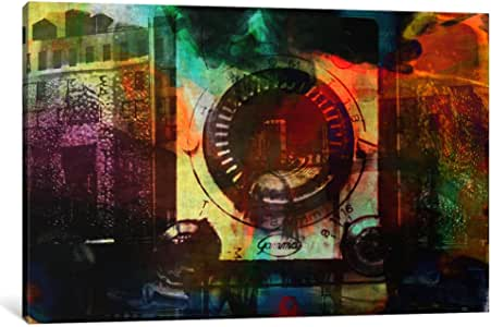"iCanvasART 1 件复古相机印象帆布画 Fabrizio 出品 40"" x 26"" UVP48-1PC3-40x26"