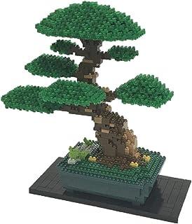 Nanoblock Bonsai Matsu 豪华版建筑套件,绿色