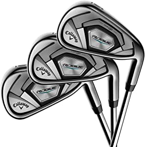 Callaway Golf 2018 Men's Rogue Irons Set (Set of 6 Total Clubs: 5-PW, Right Hand, Steel, Regular Flex)