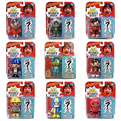 ライアンの世界704人形、多色(2パック)