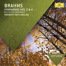 进口CD:勃拉姆斯:第2,4号交响曲(CD)4784219
