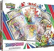 精靈寶可夢 TCG:劍與盾牌人偶系列   4 個補充包   1 張全藝術箔卡以皮卡丘為特色   正版卡片