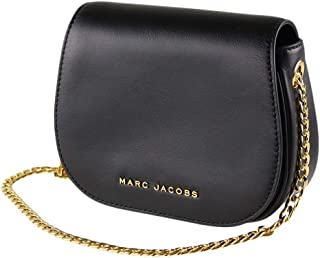Marc Jacobs 马克·雅可布 Avenue 皮革斜挎包 黑色 均码