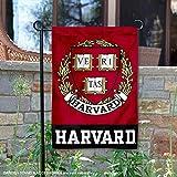 Harvard Crimson 盾徽花园旗帜