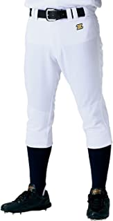 ZETT(ZETT) 棒球 制服 常规款 裤子 膝盖 双层 加固 美卡邦 白色(1100) BU1182P