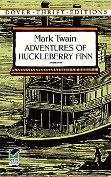 """Adventures of Huckleberry Finn (Dover Thrift Editions) (English Edition)"",作者:[Twain, Mark]"