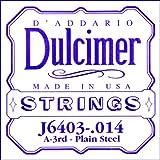 D'Addario J6403 普通钢化双绞线, .014