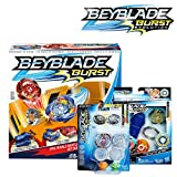 Beyblade 爆破套装* -- Epic Rivals 战斗套装,Rip Fire 入门套装 Roktavor R2,双包装 Tyros T2 和 Doomscizor D2