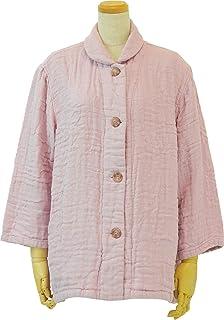 内野(UCHINO)家居服 棉花糖蔷薇棉纱 女士 圆领开衫 RGF14448 I 粉色 Medium RGF14448 P