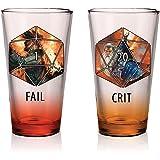 品脱玻璃杯,2 个变体 棕色 unknown