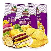 Sabava 沙巴哇 菠萝蜜干果220g*2+沙巴哇综合蔬果干230g(越南进口)(供应商直送)