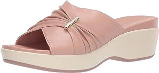 Cole Haan 女士 Aubree Grand 褶饰凉鞋平底鞋