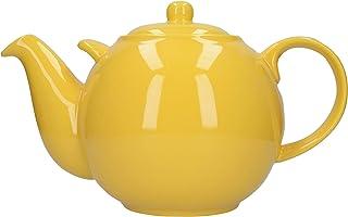 London Pottery Globe 超大滤水壶,陶瓷,黄色,10 杯(3.2 升)