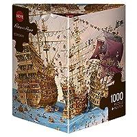 Heye Puzzles - 三角形,1000 件 - Corsair,Ruyer