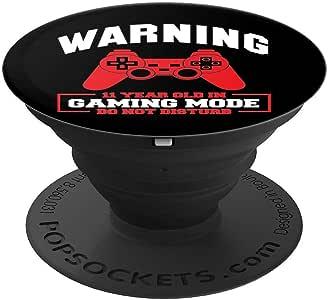 游戏模式 Do Not Disturb 趣味游戏圣诞礼物 PopSockets 手机和平板电脑握架260027  黑色