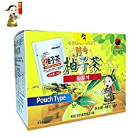 韩今(韩国) 蜂蜜柚子茶30g*15(韩国进口)(亚马逊自营商品, 由供应商配送)