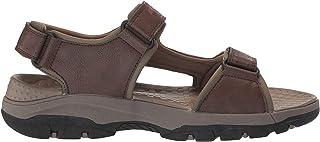 Skechers 男士 Tresmen-hirano 露趾涉水凉鞋