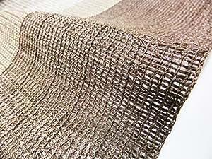 """萩原 遮阳罩 出门 """"哈吉斯特莱布"""" 羽毛型 棕色 約175X180cm 350104830"""
