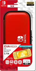 "任天堂 官方* Nintendo Switch Lite*收纳袋""EVA收纳袋"" - Switch-Variation_P 红色"