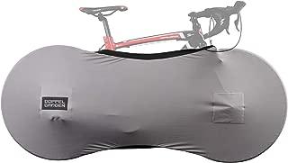 【cobsruno】自行车室内保管罩 700C、650C、26英寸 大直径车辆用 采用可伸缩弹性材质 防止灰尘、污垢附着 可与竖放型自行车支架同时使用 DCC477-GY