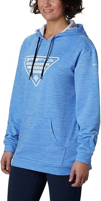 Columbia Tidal 图案抓绒连帽衫 小号 蓝色 1859351-485-Small