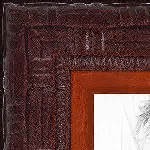 画框华丽雕刻红木染色 ON 木 ..3.18