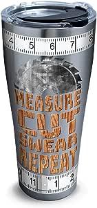 Tervis 不锈钢保温杯,带盖子 银色 30 oz 1314910