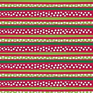 THE 礼品包装公司印花纸巾 Red/Green/White