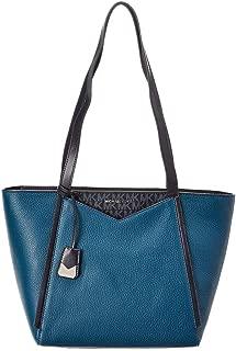 Michael Kors 迈克高仕皮革手提包 - 传统蓝