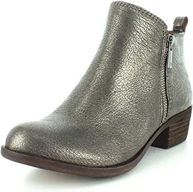 Lucky Brand 女士 Basel 短靴 Old Pewter 5.5 M US