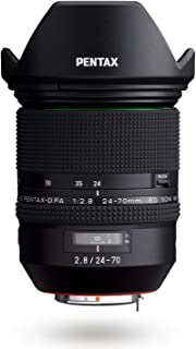 HD Pentax-D FA F3.5-5.6 ED DC WRD FA 24-70mm F2.8ED SDM WR 24-70MM F/2.8 lens 24-70mm 黑色