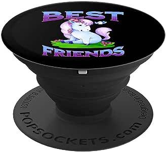 友谊 T 恤 Best Friends 小马 My Little Best Friend PopSockets 手机和平板电脑抓握支架260027  黑色