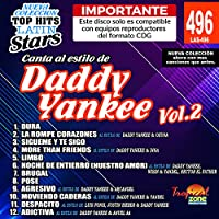 卡拉 OK Top Hits Latin Stars 496 Daddy Yankee Vol.2