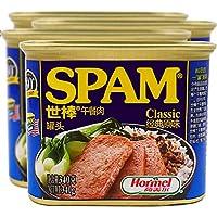 【4罐】 世棒spam荷美尔午餐肉罐头火锅食材可即时 (经典)