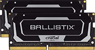 Crucial 美光 Ballistix BL2K16G32C16S4B 3200 MHz, DDR 4 DRAM, 筆記本電腦游戲內存套件 32GB (16GBx2) CL16