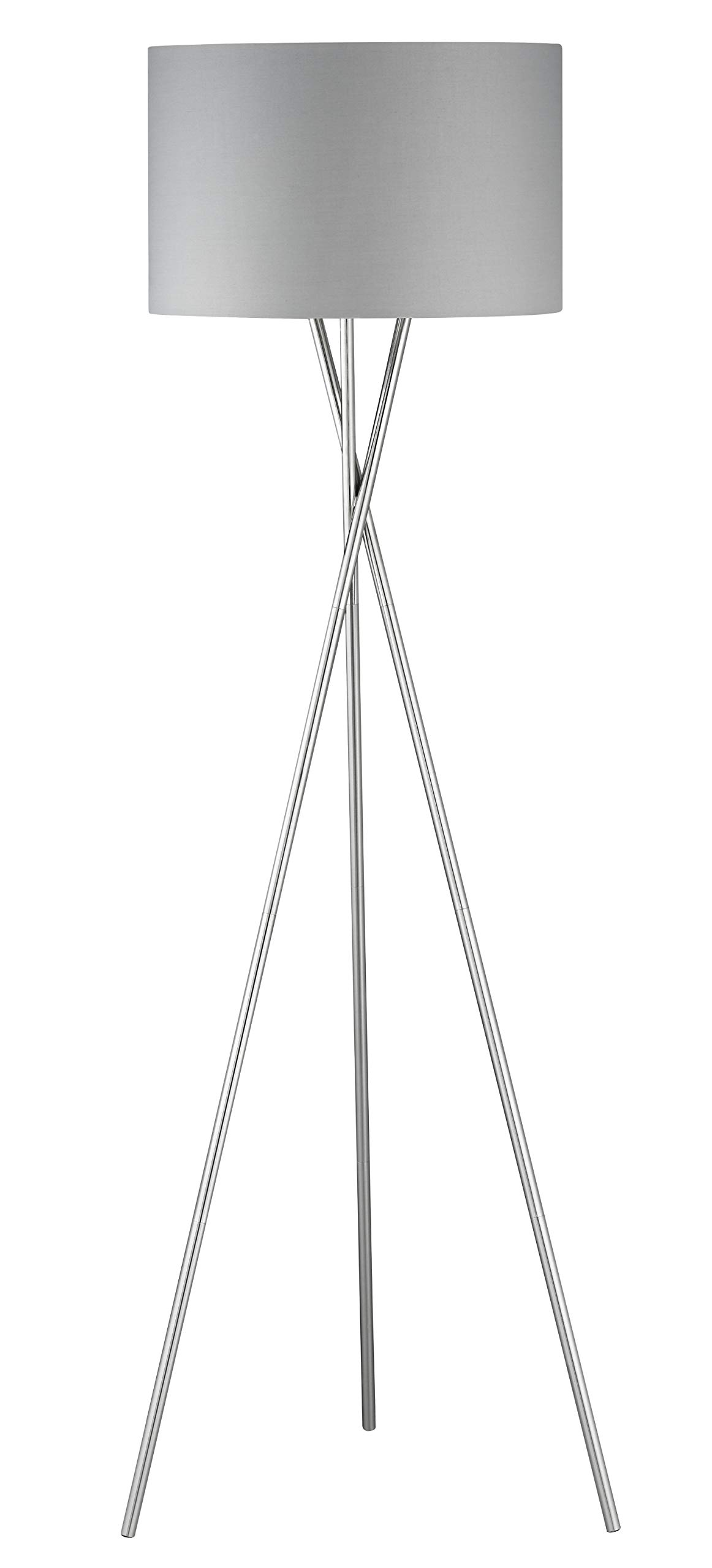 Fischer&Honsel WOTAN 落地灯,金属,60瓦,镍色