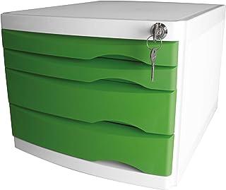 Helit 抽屉盒 The Safe 4 抽屉可锁 Grã1-4n