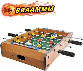 CIGOCIVI 20 英寸(约 50.8 厘米)桌上桌游,适用于家庭游戏之夜,带儿童便携式迷你桌面足球游戏,适合成人使用