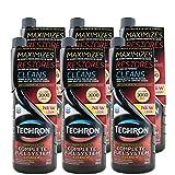 Chevron 雪佛龙 Techron特劲燃油系统清洗剂355ml*6整箱超值装美国原装进口(高含量有效成分PEA聚醚胺让你的油门更轻 动力更强 更省油)XFLTCP06