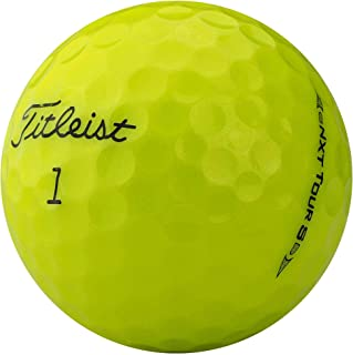 lbc-sports Titleist Nxt Tour S 高尔夫球 - AAAA - AAA - 黄色 - 湖球 - 型号 2017/2015 - 旧高尔夫球