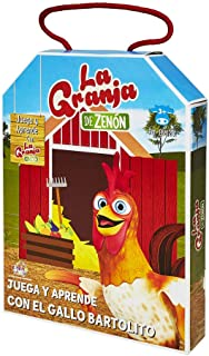 La Granja de Zenón The Zenon Farm — 与 Bartolite Rooster 一起玩和学习 (Bandai EB81201)