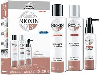 Nioxin System 3 Hair System套装 染色秀发轻薄1套装