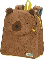 SAMSONITE Happy Sammies - Children Backpack S School Backpack, 28 cm, 7.5 liters, Brown (Teddy Bear)