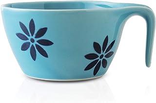 CtoC JAPAN Select 一人生活 餐具 汤杯 平底 蓝色 蓝色 W 14cm xD 11cm xH 6cm 250cc 日本制造