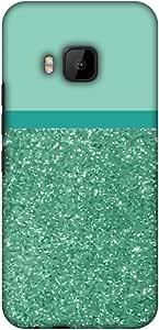 amzer 修身手工定制设计师印花硬壳保护套背部外壳适用于 HTC ONE M9 All That Glitters 1