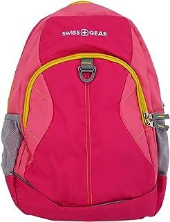 "Swiss Gear Pink 18"" 电脑背包大容量学校旅行包"