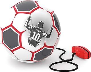 Messi Pro 训练球 - 红色和白色