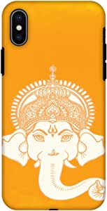 AMZER 双层混合手工设计师防震手机壳屏幕保护膜苹果 iPhone XAMZ601040239511 Almighty Ganesha