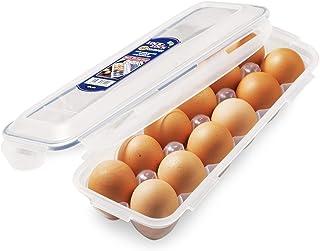 LOCK & LOCK 密封圆形食物储藏盒,洋葱盒 10.14 盎司/1.27 杯 透明 12份 HPL954